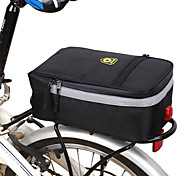 economico -B-SOUL 5 L Borsa posteriore da bici / Portapacchi da bici Borse posteriori da bici Ompermeabile Portatile Estese Borsa da bici Poliestere Terylene Oxford Marsupio da bici Borsa da bici Ciclismo Bici