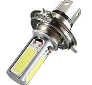 abordables -20w h4 voiture cob led brouillard lumière diurne drl lampe