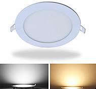 abordables -Jiawen a mené le panneau ultra mince rond de panneau de la lumière 12w de voyant pour le bureau à la maison allumant ac85 -265v