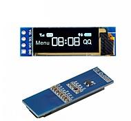 abordables -i2c oled module d'affichage 0,91 pouce i2c ssd1306 pilote d'écran bleu oled dc 3.3v5v pour arduino