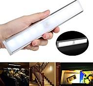 abordables -1 pc infrarouge capteur lampe LED sous l'armoire lumière corps humain induction nuit lumière sensible pir induction lumière capteur de mouvement lampe lumière
