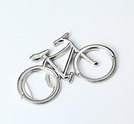abordables -Porte-clés Vélo Simple Bagues Tendance Bijoux Argent Pour Quotidien