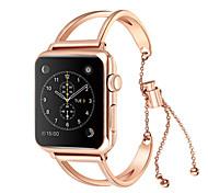 economico -Cinturino intelligente per Apple  iWatch 1 pcs Stile dei gioielli Acciaio inossidabile Sostituzione Custodia con cinturino a strappo per Apple Watch Serie SE / 6/5/4/3/2/1 38 millimetri 42 millimetri