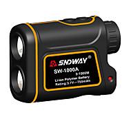 abordables -SNDWAY SW-1000A 3~1000M Télémètres laser de golf AirPlay / Portable Pour sport extérieur / pour mesure en extérieur