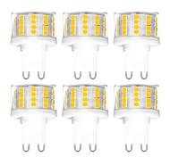 abordables -6pcs 5 W LED à Double Broches 500 lm G9 T 52 Perles LED SMD 2835 Intensité Réglable Blanc Chaud Blanc Froid Blanc Naturel 200-240 V