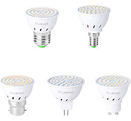 abordables -1pc 5 W Spot LED 500 lm E14 GU10 MR16 48 Perles LED SMD 2835 Décorative Blanc Chaud Blanc Froid 220-240 V