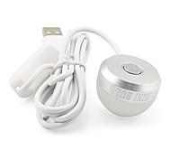 abordables -1pc portable led nuit lumière 2w 5v dc usb alimenté led lampe de lecture blanc chaud blanc