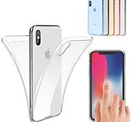 economico -telefono Custodia Per Apple Integrale iPhone 12 Pro Max 11 SE 2020 X XR XS Max 8 7 6 Resistente agli urti Ultra sottile Transparente Tinta unica Morbido TPU