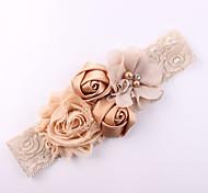 abordables -Bébé basique / Doux Fille Fleur du soleil Rayé Accessoires Cheveux Rayonne Blanche / Noir / Bleu Taille unique