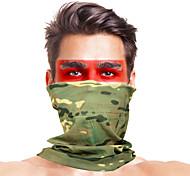 abordables -Cagoule Couleur Pleine camouflage Coupe Vent Séchage rapide Résistant à la poussière Respirable Vélo / Cyclisme Vert Minéral Vert de forêt Vert / noir. pour Homme Adulte Ski Activités Extérieures Moto