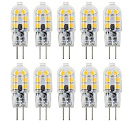abordables -10pcs 3 W LED à Double Broches 180 lm G4 T 12 Perles LED SMD 2835 Adorable 12 V