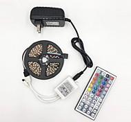 economico -BRELONG® 5m Strisce luminose LED flessibili 300 LED 2835 SMD 1pc Colori primari Accorciabile Feste Decorativo 12 V / Collagabile / Auto-adesivo
