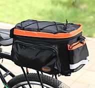 economico -10 L Borsa posteriore da bici / Portapacchi da bici Coprizaino Ompermeabile Leggero Assorbimento urti Borsa da bici Terylene Nylon Marsupio da bici Borsa da bici