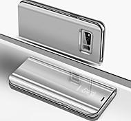 economico -telefono Custodia Per Samsung Galaxy Integrale Silicone Custodia in silicone S10 S10 + Galaxy S10 E Placcato A specchio Con chiusura magnetica Tinta unica Resistente Silicone