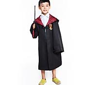 economico -Cosplay Harry James Potter Harry magico Grifondoro Mantello Unisex Cosplay da film Giallo Rosso Blu Mantello Tessile Tessuto