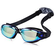 abordables -Lunettes de natation Etanche Antibrouillard Pour Adulte résine Silikon Polycarbonate Noir Bleu Rose clair Gris clair