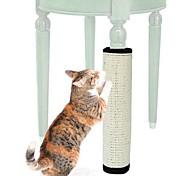 abordables -Planche à gratter Jouets Interactifs pour Chat Jouets amusants pour chats Chat 1 pc Compatible avec animaux de compagnie Pliant Sisal Cadeau Jouet pour animaux de compagnie Jeu d'animaux