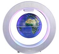 abordables -Globe Tellurion LED Night Light Lévitation Flottante DC alimenté 1pc
