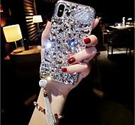 economico -telefono Custodia Per Apple Per retro iPhone 12 Pro Max 11 Pro Max iPhone XR iPhone XS iPhone XS Max iPhone X iPhone 8 Plus iPhone 8 iPhone 7 Plus iPhone 7 iPhone 6s Plus Con diamantini Strass