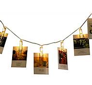 economico -Night Light LED Matrimonio / Decorativo / con Clip Batterie AAA alimentate 1pc