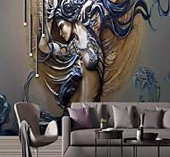 economico -Artistico 3D Angelo Decorazioni per la casa Classico Moderno Rivestimento pareti, Tela Materiale adesivo richiesta Panno da muro, Carta da parati
