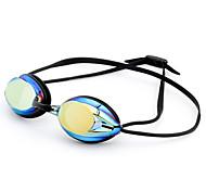 abordables -Lunettes de natation Etanche Antibrouillard Pour Adulte Silikon Gomme Polycarbonate Incarnadin Gris Noir