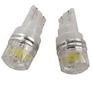 abordables -OTOLAMPARA Automatique LED Lumière de Plaque d'Immatriculation W5W Ampoules électriques 160 lm COB 2 W 1 Pour Nissan / Kia / Hyundai Maxime / Juke / Altima 2019 2 pièces