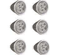 abordables -6pcs 5 W Spot LED 500 lm GU10 GU10 5 Perles LED LED Haute Puissance Soirée Décorative Décoration de mariage de Noël Blanc Chaud Blanc Froid 85-265 V / RoHs