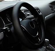 economico -Copristerzo per auto pelle sintetica 38 cm Nero Per Universali Tutti i modelli Tutti gli anni