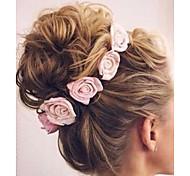 economico -Bambino (1-4 anni) Essenziale / Dolce Da ragazza Con fiocco Fantasia floreale Accessori per capelli Rayon Bianco / Blu / Rosso Taglia unica