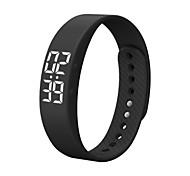 economico -Da coppia Orologio sportivo Digitale Digitale Casuale Resistente all'acqua Calendario Cronometro / Silicone