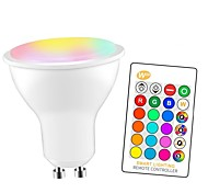economico -1 pc 5 W Lampadine LED smart 350 lm GU10 E26 / E27 3 Perline LED SMD 5050 Inteligente Oscurabile Feste RGBW 85-265 V