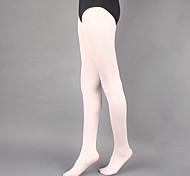 abordables -Ballet Collants Femme Entraînement / Utilisation Polyester Couleur Unie Chaussettes