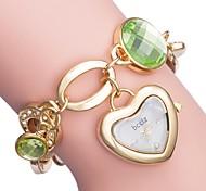 abordables -ASJ Femme Montre Chic Habillée Montre bracelet Analogique Quartz Forme de coeur Montre Décontractée / Un ans / Japonais