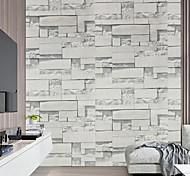economico -carta da parati buccia e bastone 3d decorativo pietra mattone venatura del legno adesivo da parete in vinile impermeabile autoadesivo decorazione murale art 100 * 45 cm