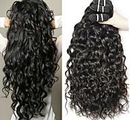 abordables -Lot de 3 Tissage de cheveux Cheveux Malaisiens Ondulation Extensions de cheveux Naturel humains Cheveux Naturel Rémy Paquets de 100% Remy Hair Weave 300 g Tissages de cheveux humains Extensions