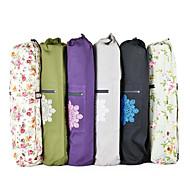 abordables -Sac de sport / Sac de Yoga / Bagage à Main - Yoga, Pilates Yoga Toile et Cuir Imprimé fleuri, Violet, Rouge