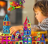 abordables -Carreaux magnétiques Blocs de Construction Jouet Educatif Kit de construction de modèles Blocs magnétiques 3D Jouets Aimantés Anti-Stress 30-199 pcs Jouet Vapeur compatible ABS Legoing Pour les