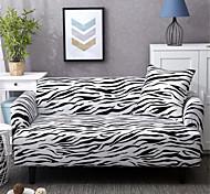 economico -fodere per divani stampa animalier stampa pelle di zebra fodere per divani fodere in tessuto spandex forma morbida adatta con una federa gratuita adatta per poltrona/divano a due posti/tre