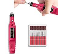 abordables -1 Métal Kits d'ongles Durable Artistique Quotidien Outil Nail Art Pinceaux d'époussetage Brosses à ongles pour