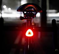 abordables -LED Eclairage de Velo LED Eclairage de Vélo Arrière VTT Vélo tout terrain Vélo Cyclisme Lithium-ion polymère Induction intelligente Induction automatique des freins Batterie rechargeable 20 lm