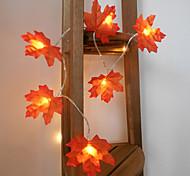 economico -1.5m Fili luminosi 10 LED 1 set Bianco caldo Creativo Feste Decorativo Batterie AA alimentate