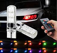 economico -Auto LED Fanale posteriore / Luci dei freni / Luci di retromarcia (backup) T10 / W5W Lampadine SMD 5050 1.32 W 6 Per Universali Tutti gli anni 2 pezzi