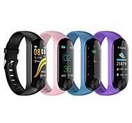 economico -Y10 Intelligente Bracciale per Android iOS Bluetooth 0.96 pollice Misura dello schermo IPX-6 Livello impermeabile Impermeabile Schermo touch Monitoraggio frequenza cardiaca Misurazione della