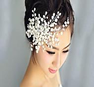 abordables -Chapelet Peignes avec Perle / Fleur 1 Pièce Mariage / Fête / Soirée Casque