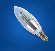 abordables -1pc 7 W Ampoules Bougies LED 310-410 lm E14 35 Perles LED Décoration de mariage de Noël Blanc Froid 220-240 V