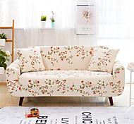 abordables -fleurs et plantes imprimer housses extensibles anti-poussière housse de canapé extensible housse de canapé en tissu super doux (vous obtiendrez 1 taie d'oreiller comme cadeau gratuit)