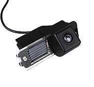 economico -ZIQIAO 720 x 480 CCD Con filo 170 Gradi Telecamera posteriore Impermeabile per Auto