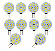 abordables -10 pièces 3 W LED à Double Broches 300 lm G4 12 Perles LED SMD 5730 Décorative Adorable Blanc Chaud Blanc Froid 12 V