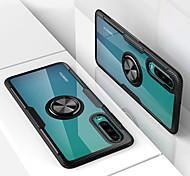 economico -telefono Custodia Per Huawei Per retro Huawei P20 Huawei P20 Pro Huawei P20 lite Huawei P30 Huawei P30 Pro Supporto ad anello Tinta unica Resistente PC